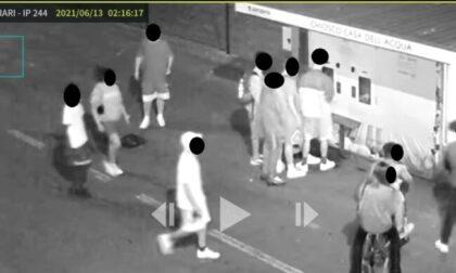Raid notturno a Romano di Lombardia: giovanissimi devastano la casetta dell'acqua