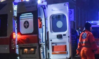 Lite a Verdello e automobilista ribaltato a Fara Gera d'Adda, doppio intervento nella Bassa