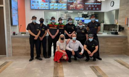 A Medolago ha aperto un nuovo Burger King, che ha assunto 20 dipendenti