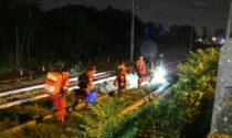 Monza, 79enne ghanese residente in provincia di Bergamo travolto e ucciso da un treno