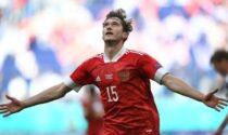 Il primo gol nerazzurro agli Europei è di Miranchuk, una perla mancina da vedere e rivedere