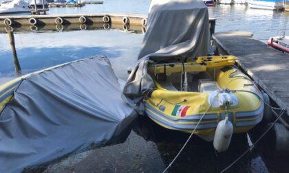 Vandali in azione al porto di Predore: devastate due idroambulanze della Croce Rossa