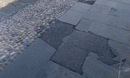 Sistemazione della pavimentazione di via Borfuro: i lavori slittano al 9 agosto