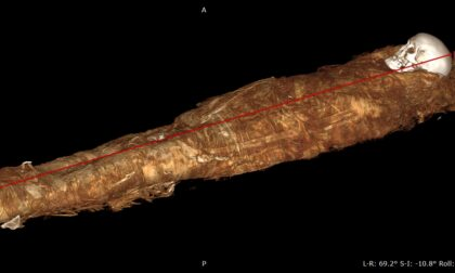 Tac e autopsia virtuale sulla mummia di Ankhekhonsu: aveva tra i 40 e i 50 anni