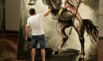 Il poderoso Sant'Alessandro dell'artista Ivano Parolini, che ci chiama a risorgere