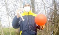 I palloncini con i sogni dei bambini di Cesano Boscone sono arrivati fino ad Arcene