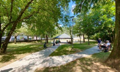 Il nuovo look del giardino Rosselli: più giochi, gazebo, una piazza e una grande area cani