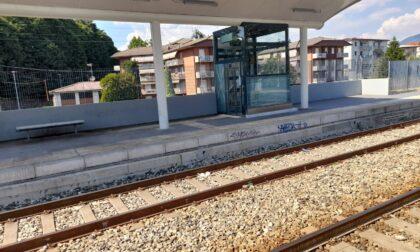 Sporcizia, urina, siringhe e ascensori inagibili in stazione a Seriate: le foto del degrado