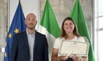 «Tenacia e capacità di rialzarsi»: il Consiglio regionale premia la ciclista Claudia Cretti