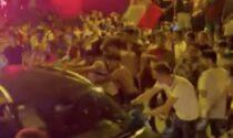 Auto bloccate sul ponte e danneggiate: a Sarnico più controlli in vista di Italia-Inghilterra