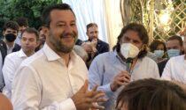 Salvini, non ancora vaccinato, alla cena della Lega a Brusaporto. E Carretta lo critica