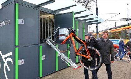"""Contro i furti delle biciclette a Bergamo arriveranno i """"bike box"""" (degli armadietti)"""