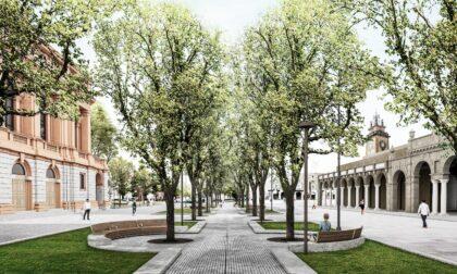 Riqualificazione del centro Piacentiniano: i lavori si spostano sul Sentierone e cambia la viabilità