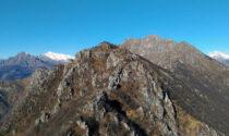 Vandali in azione sul Monte Ocone: tolti i bulloni e tagliata la catena della ferrata