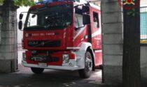 Si allaga l'asilo Olivari a Romano di Lombardia: intervengono i vigili del fuoco