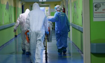 A Bergamo nuovo balzo in avanti dei casi, 64 in più. In Lombardia 1 vittima