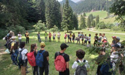 Successo dei Campi Natura di Legambiente sulle Orobie con i ragazzi del Lussana