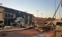 Foto e video dei danni della tempesta che ieri pomeriggio ha colpito la Geromina a Treviglio