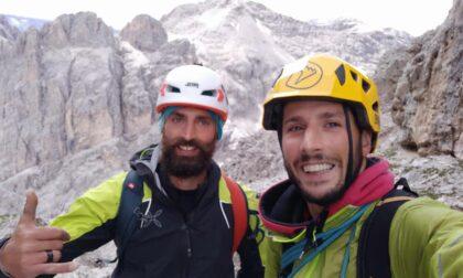 Sospeso per due ore sul Dente del Gigante, poi la caduta per 30 metri: Cristian è salvo per miracolo