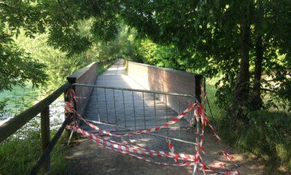 La vergogna dei ponti della ciclabile della Val Seriana ancora chiusi dopo quasi due anni