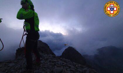 Precipita sul Pizzo Coca, a Valbondione: morto un alpinista di Parma di 25 anni