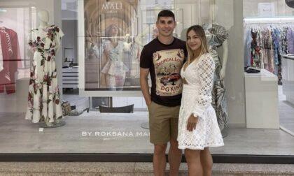 Malinovskyi alla moglie Roksana: «Con l'Atelier hai aggiunto bellezza a questa bellissima città»