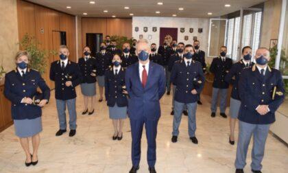 Questura, il Dipartimento di Pubblica sicurezza assegna ventidue nuovi agenti