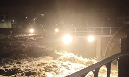 Maltempo, fiato sospeso a San Pellegrino: nella notte chiusi (e poi riaperti) tre ponti