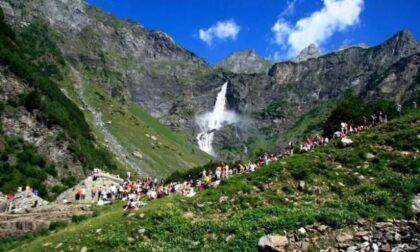Frana di Ferragosto a Valbondione: annullata l'apertura delle Cascate del Serio