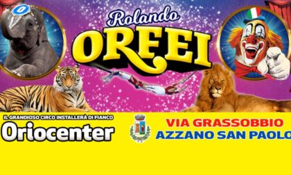 Un classico per Sant'Alessandro: torna il circo di Rolando Orfei (vicino a Oriocenter)