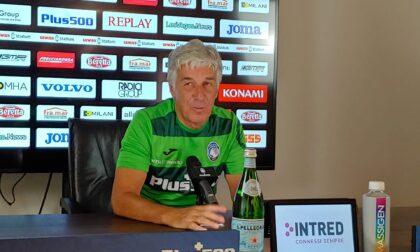 Gasperini: «Alzare l'asticella? Io non parto con l'Atalanta favorita per il campionato»
