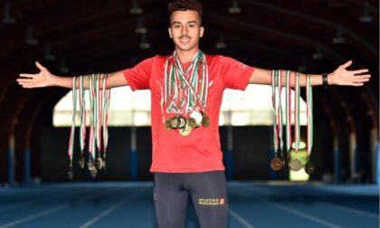 Hakim, il campione italiano dell'Atletica Bergamo che però non è ancora italiano