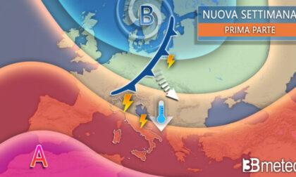 Ferragosto da bollino rosso, da lunedì la svolta: piogge e temperature giù di dieci gradi