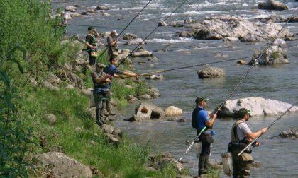 Stop alle gare: nei fiumi e nei laghi non si possono più pescare trote e coregoni