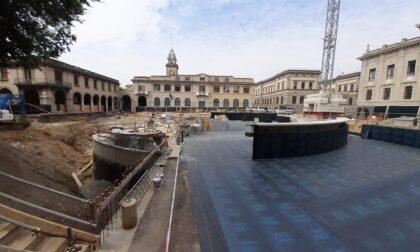 Piazza Dante, la consegna dell'area al Comune rinviata a settembre