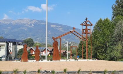 Ecco il monumento alla Madonna de la Salette: conclusa la nuova viabilità di San Sosimo