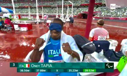 Altra medaglia per Oney Tapia alle Paralimpiadi: bronzo nel lancio del disco