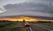 Supercelle e trombe d'aria: domenica di tempesta nel Nord Italia