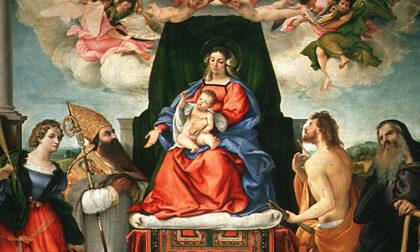 """Pignolo celebra i 500 anni dei due capolavori che Lorenzo Lotto ha """"donato"""" al Borgo"""