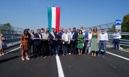 Finalmente inaugurato a Pontoglio il nuovo ponte che collega Brescia e Bergamo