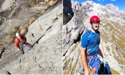 Sono a casa le salme di Giovanni Allevi e Matteo Cornago, alpinisti morti sul Badile