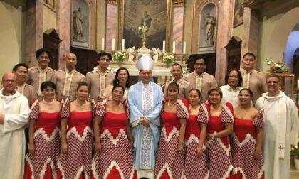 La festa grande dei 700 filippini cattolici bergamaschi, missionari in direzione contraria