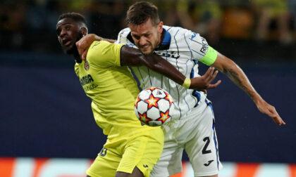 Prima avanti e poi recupera, l'Atalanta pareggia 2-2 col Villareal. Musso super