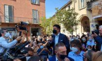 Giuseppe Conte a Treviglio, tra critiche a Salvini e ai... troppi supermercati