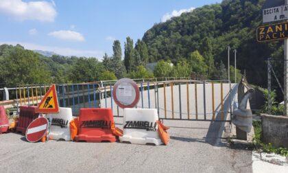 Ponte chiuso a Fiorano al Serio: i sindaci della Val Gandino, stufi, scrivono all'Anas