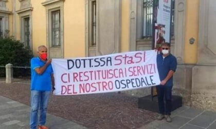 Depotenziamento dell'ospedale di San Giovanni Bianco: sit-in di protesta al Papa Giovanni