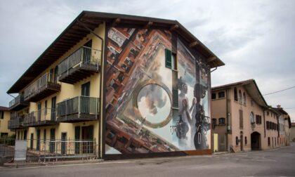 Muri da scoprire a Calcio e Covo, visite guidate (e ravioli) tra i dipinti
