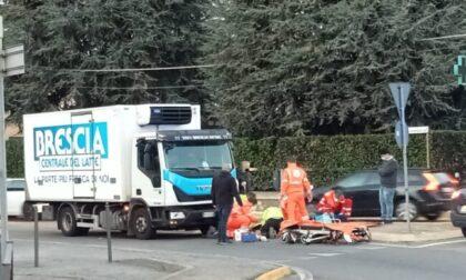 Ragazza di 15 anni investita da un camion a Capriolo: ricoverata d'urgenza al Papa Giovanni