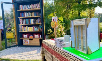 """""""Prendi un libro, lasci un libro"""": al parco Turani inaugurata la casetta dei lettori"""