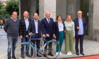 Ponte San Pietro, il neoeletto sindaco Matteo Macoli ha presentato la sua nuova Giunta